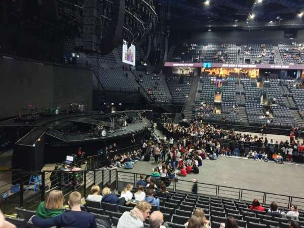AccorHotels Arena, section: N, row: 14, seat: 31