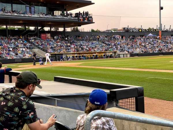 CHS Field, section: 104, row: 3, seat: 15