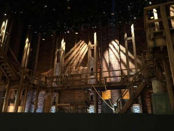 CIBC Theatre, section: Orchestra R, row: C, seat: 2