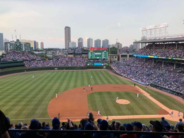 Wrigley Field, section: 512, row: 1, seat: 6
