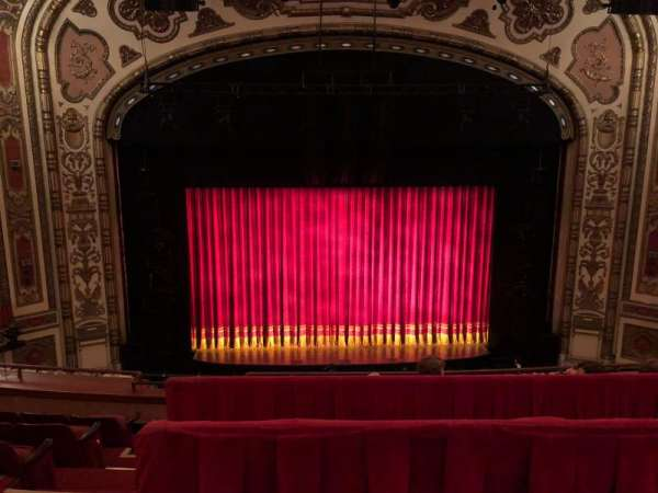 Cadillac Palace Theater, section: BALCONY LC, row: E, seat: 312