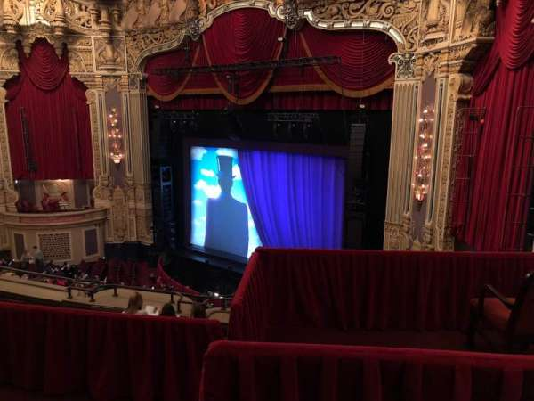 James M. Nederlander Theatre, section: Balcony FR, row: F, seat: 382