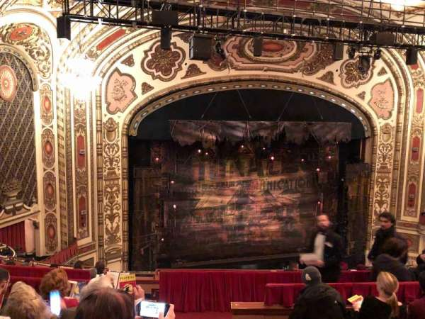 Cadillac Palace Theater, section: Balcony L, row: H, seat: 1