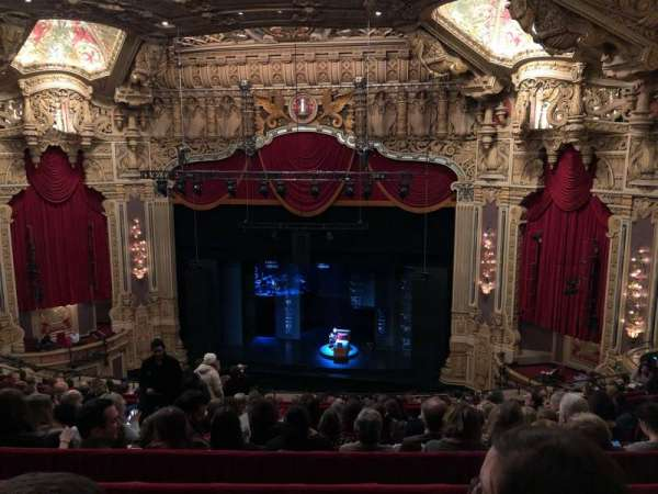 Nederlander Theatre (Chicago), section: BALCRC, row: N, seat: 332
