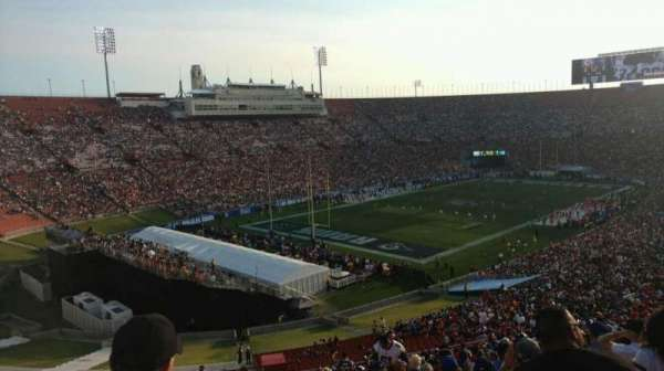 Los Angeles Memorial Coliseum, section: 328A, row: 1, seat: 2