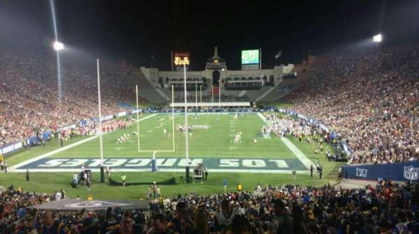 Los Angeles Memorial Coliseum, section: 113, row: 42, seat: 36