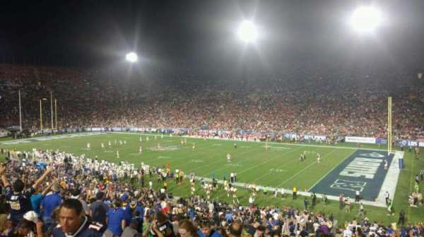 Los Angeles Memorial Coliseum, section: 203B, row: 1, seat: 14
