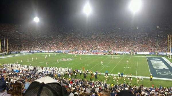 Los Angeles Memorial Coliseum, section: 5H, row: 43, seat: 101