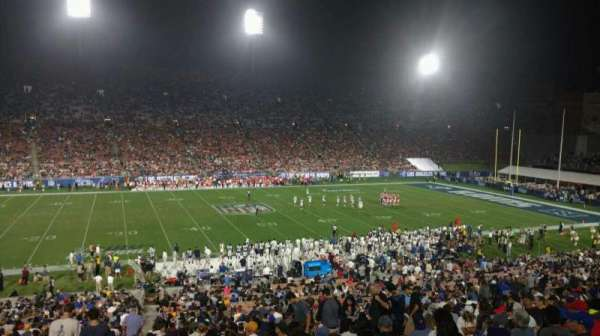 Los Angeles Memorial Coliseum, section: 8H, row: 44, seat: 101