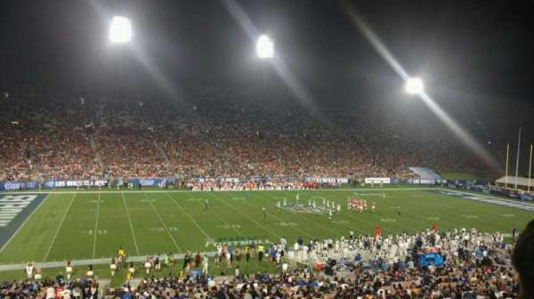 Los Angeles Memorial Coliseum, section: 9H, row: 43, seat: 103