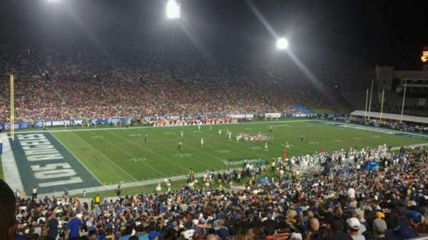 Los Angeles Memorial Coliseum, section: 10H, row: 44, seat: 101
