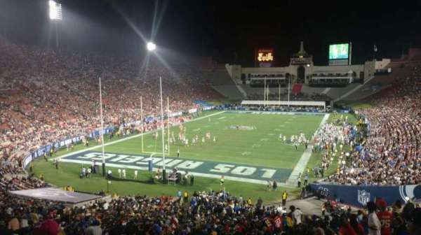 Los Angeles Memorial Coliseum, section: 212, row: 10, seat: 38