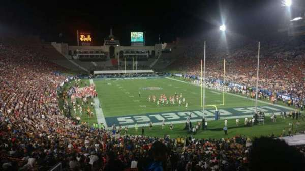 Los Angeles Memorial Coliseum, section: 215, row: 3, seat: 32