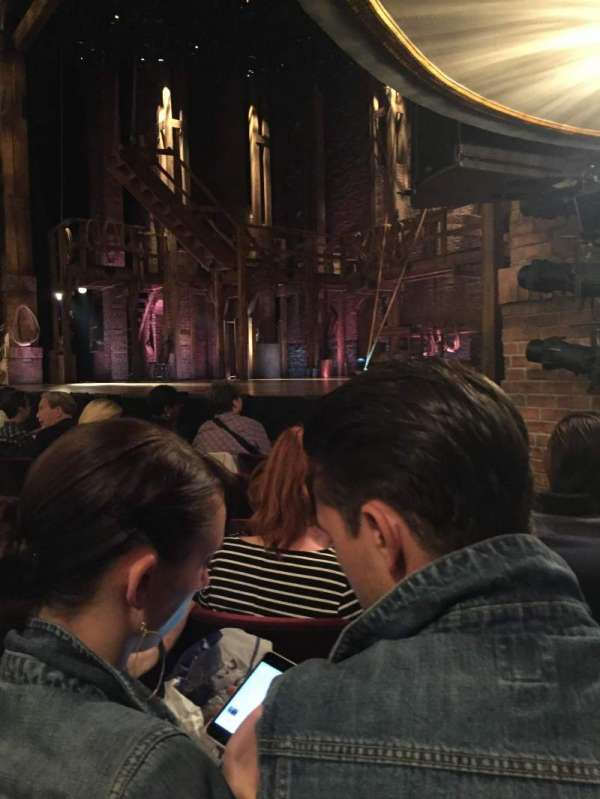 Richard Rodgers Theatre, section: Orchestra R, row: E, seat: 2