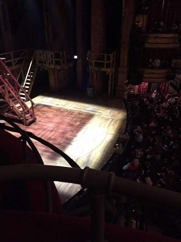 Richard Rodgers Theatre, section: Box F, row: 1, seat: 1