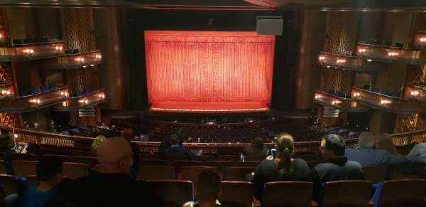 Walt Disney Theatre - Dr. Phillips Center, section: Mezzanine C, row: H, seat: 114