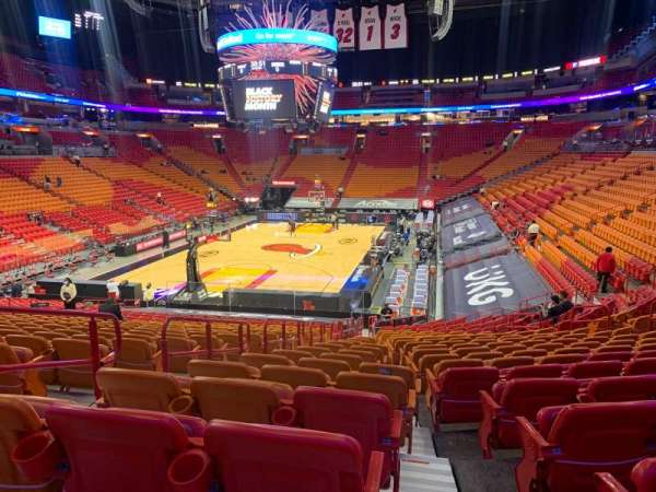 American Airlines Arena, section: 111