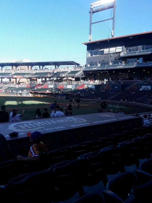 Southwest University Park, section: 117, row: I, seat: 14