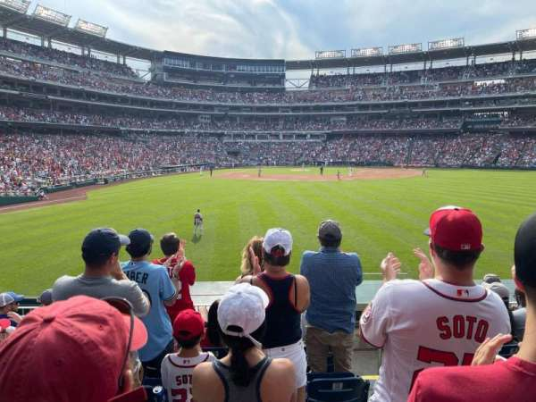 Nationals Park, section: 140, row: G, seat: 1