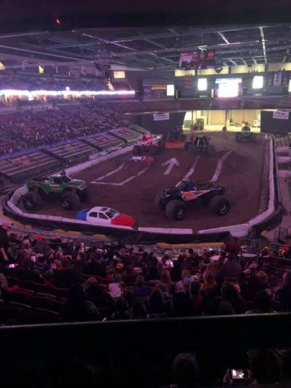 Maverik Center, section: 121, row: 23, seat: 5