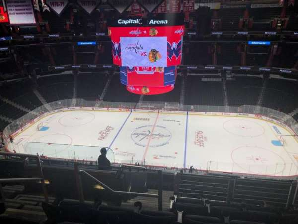 Capital One Arena, section: 401, row: L, seat: 3