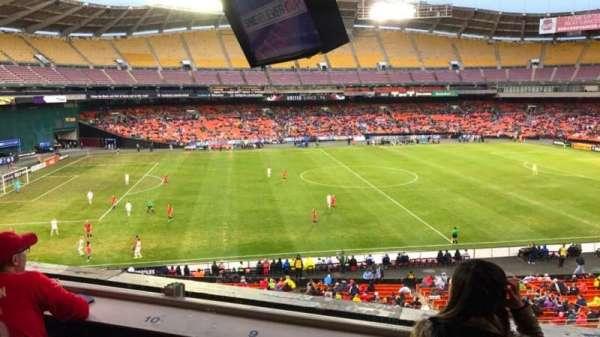 RFK Stadium, section: M38, row: Suite