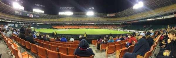 RFK Stadium, section: 131, row: 10, seat: 1