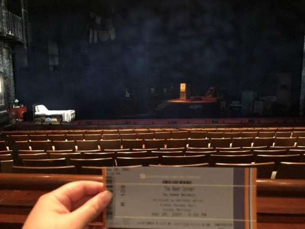 Sidney Harman Hall, section: ORCH E, row: M, seat: 109