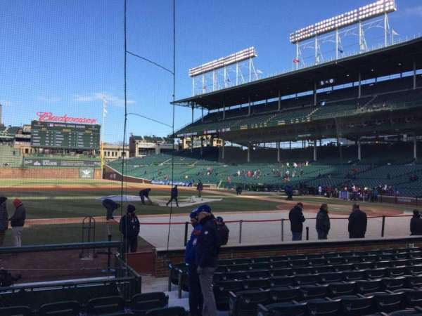 Wrigley Field, section: 13, row: 11, seat: 3