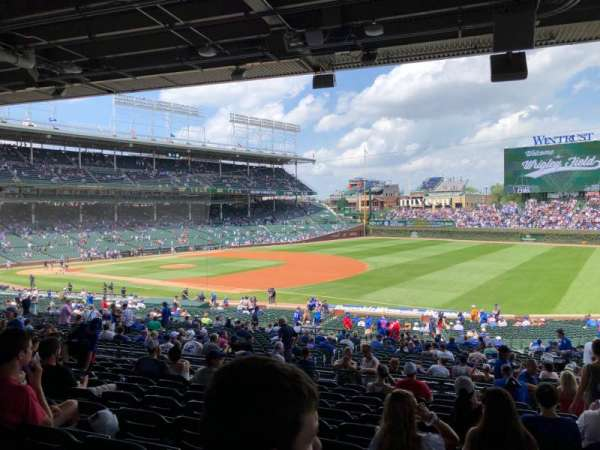 Wrigley Field, section: 228, row: 11, seat: 21