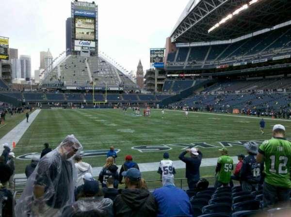 Centurylink Field, section: 124, row: J, seat: 14