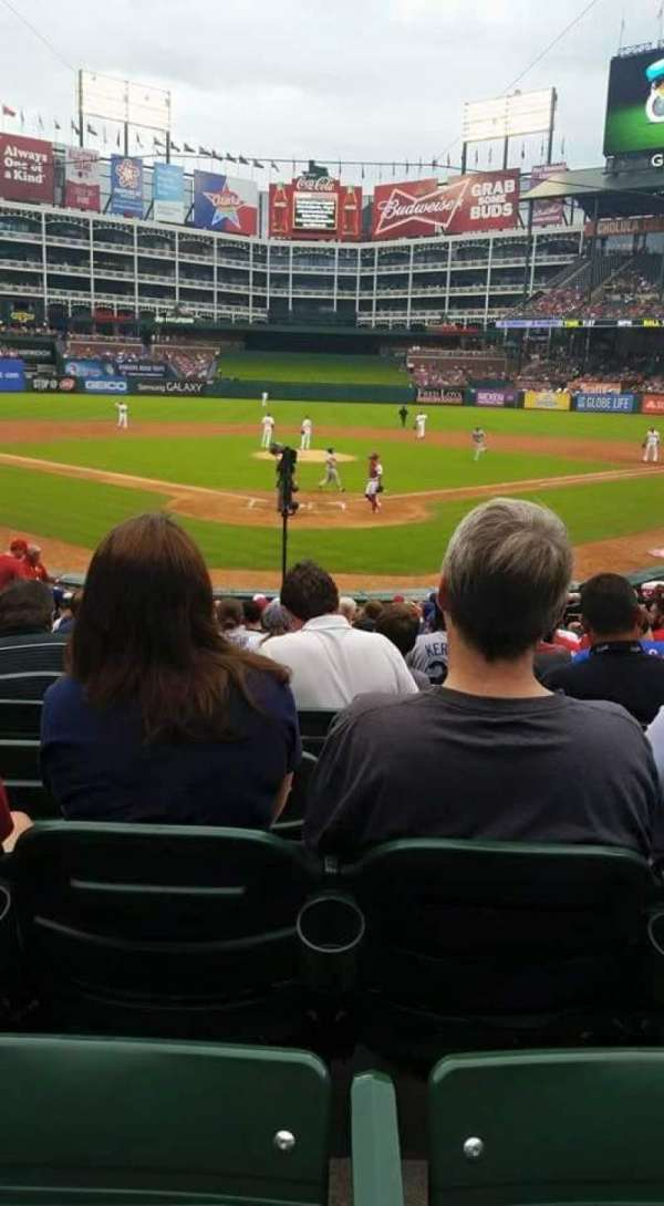 Globe Life Park in Arlington, section: 26, row: 16, seat: 5