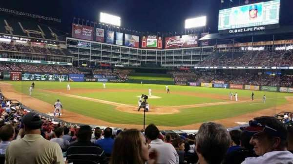 Globe Life Park in Arlington, section: 26, row: 16, seat: 6