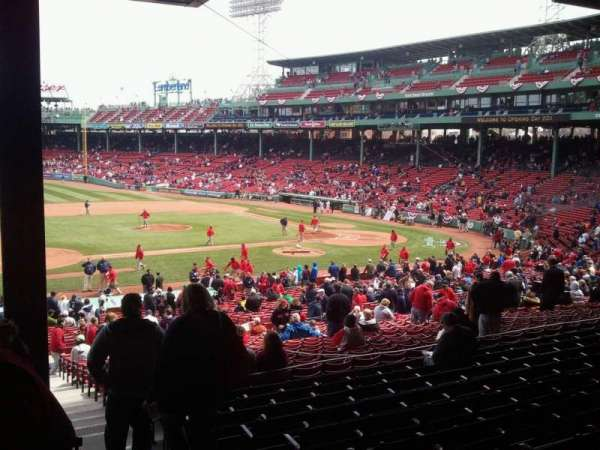 Fenway Park, section: Grandstand 27, row: 10, seat: 3