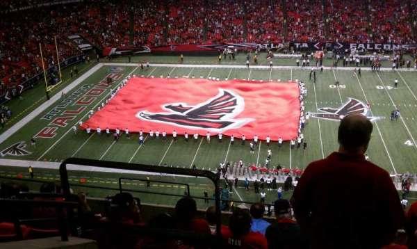 Georgia Dome, section: 348, row: 3, seat: 2