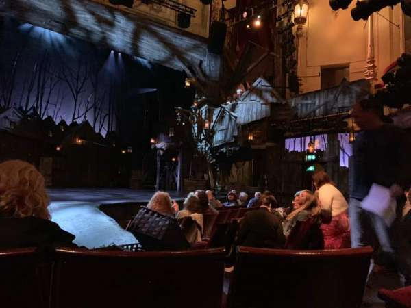 Playhouse Theatre, section: Stalls, row: J, seat: 28
