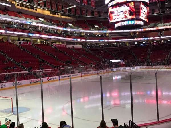 PNC Arena, section: 109, row: J, seat: 6