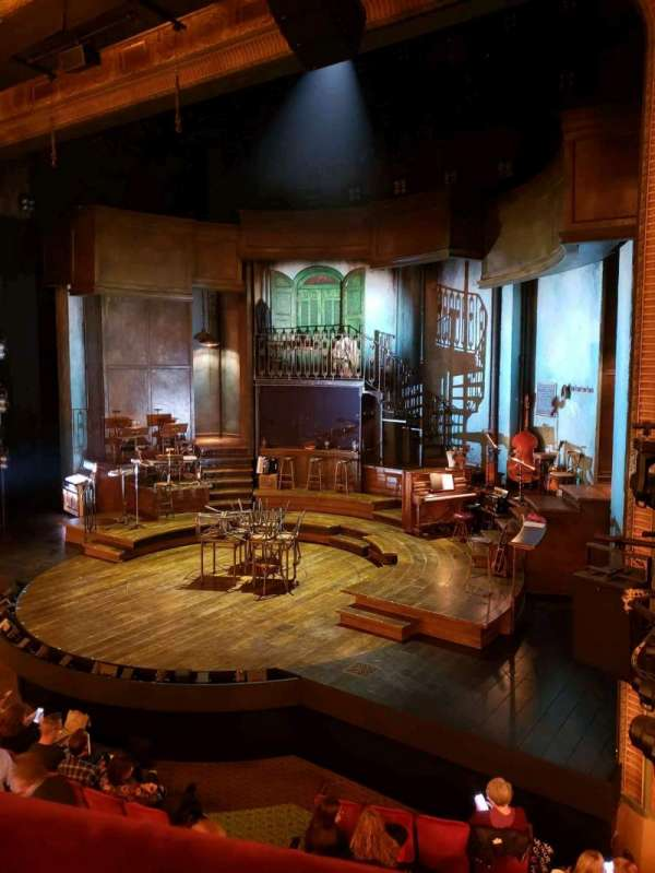 Walter Kerr Theatre, section: Mezzanine R, row: A, seat: 16