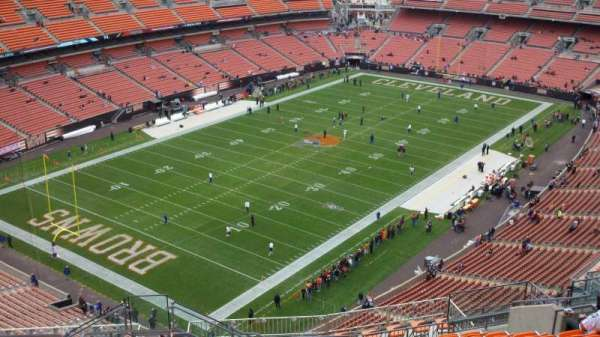 FirstEnergy Stadium, section: 526, row: 21, seat: 4