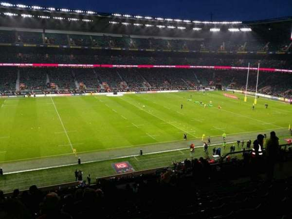Twickenham Stadium, section: M10 , row: 67, seat: 251