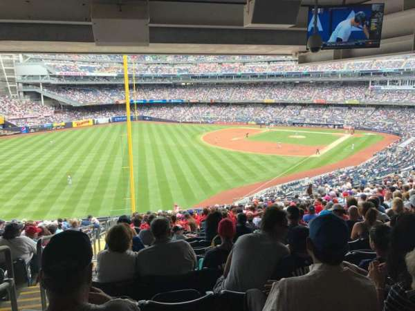 Yankee Stadium, section: 232A, row: 23, seat: 17