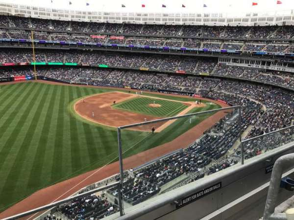 Yankee Stadium, section: 331, row: 2, seat: 1