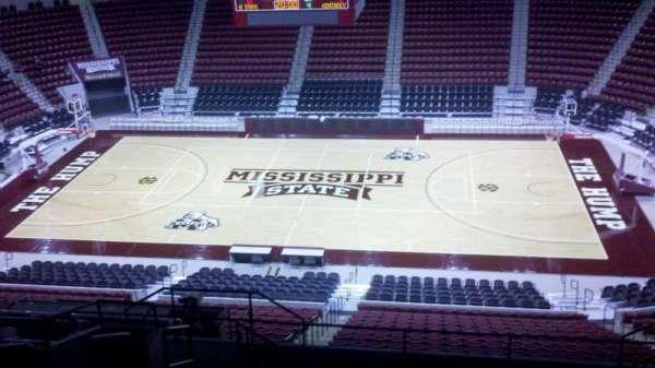 Humphrey Coliseum, section: 209, row: 12, seat: 8-10