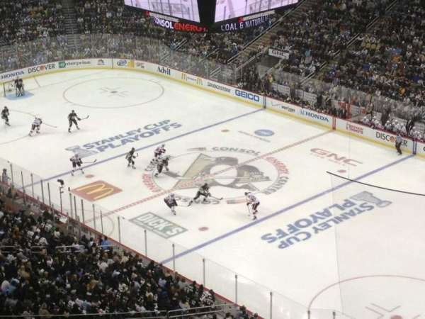 PPG Paints Arena, section: 215, row: P, seat: 17