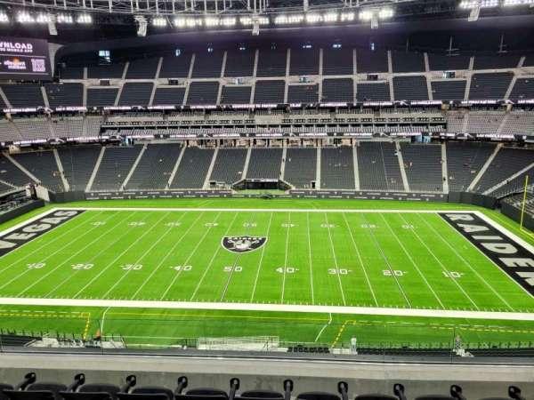 Allegiant Stadium, section: 337, row: 5, seat: 14