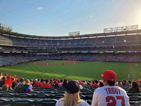Angel Stadium, section: 239, row: Z, seat: 7-9