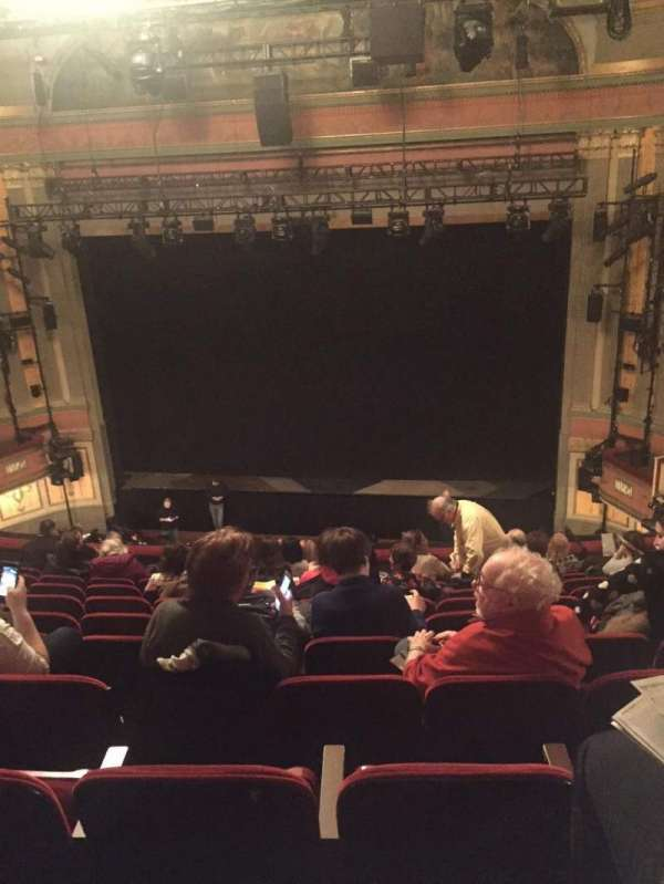 Neil Simon Theatre, section: Mezzanine C, row: L, seat: 121