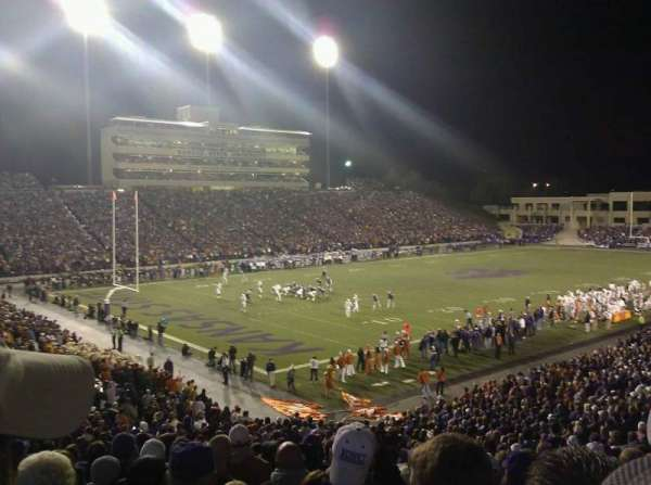 Bill Snyder Family Stadium, section: 19, row: 35, seat: 23