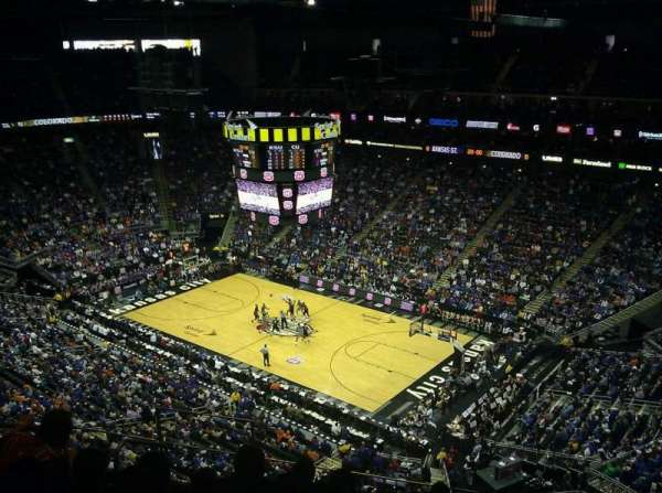 Sprint Center, section: 221, row: 8, seat: 6