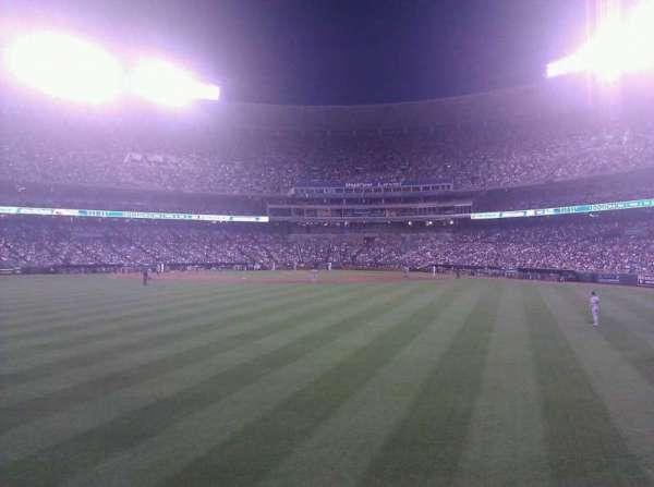 Kauffman Stadium, section: 102, row: c, seat: 19